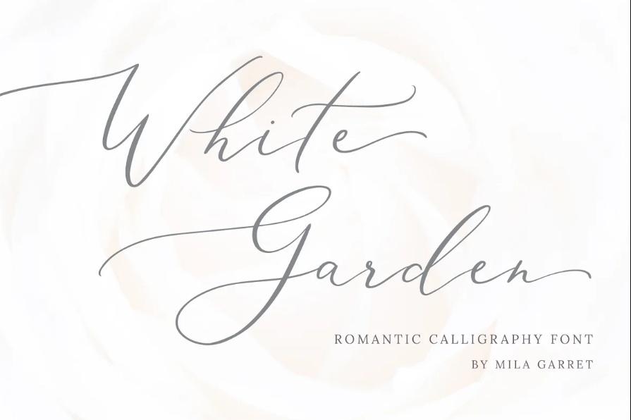 Romantic Calligraphy Fonts