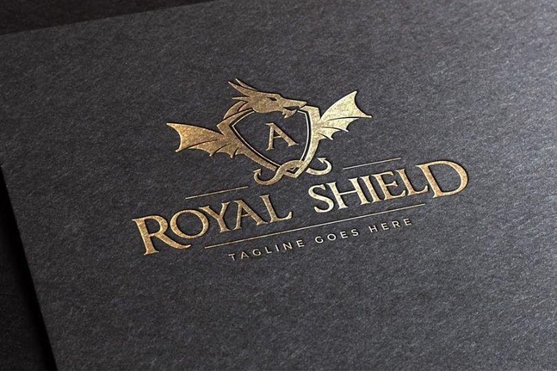 Royal Shield Logo Type