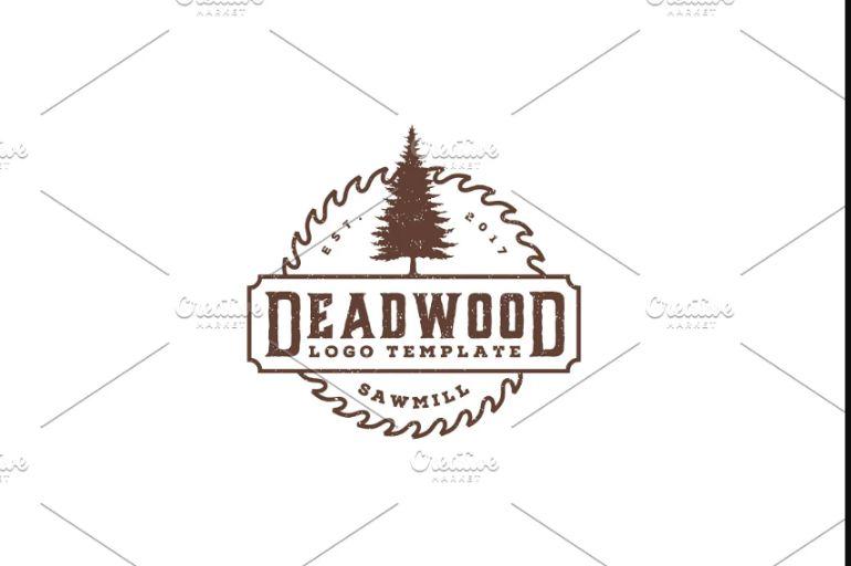 Rustic Circular Logo Templates