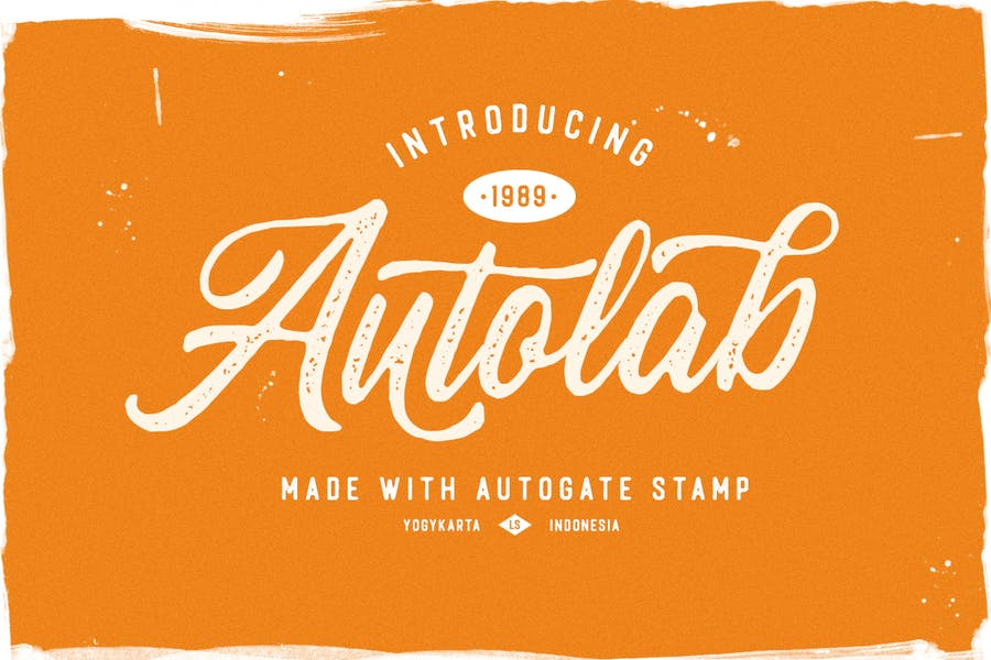Rustic and Rough Stamp Fonts