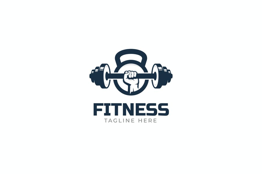 Scalable Fitness Logo Design