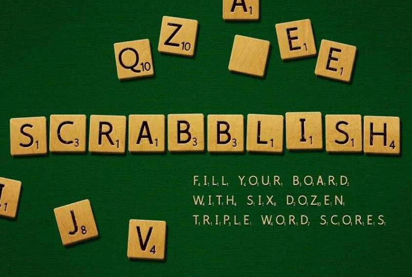 Scrabbling Gaming Fonts