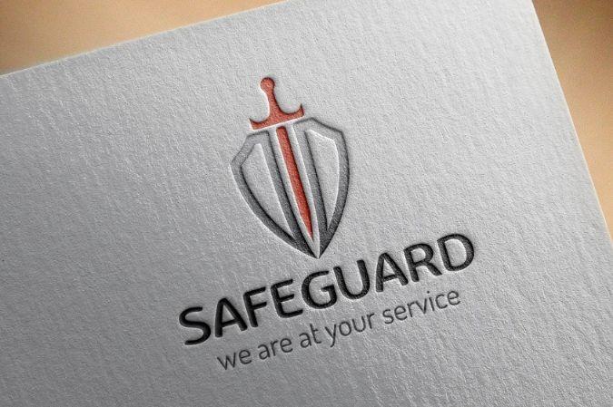 Shield Style Logo Design