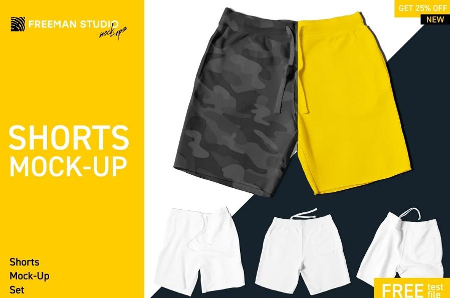 Shorts Design Presentation Template