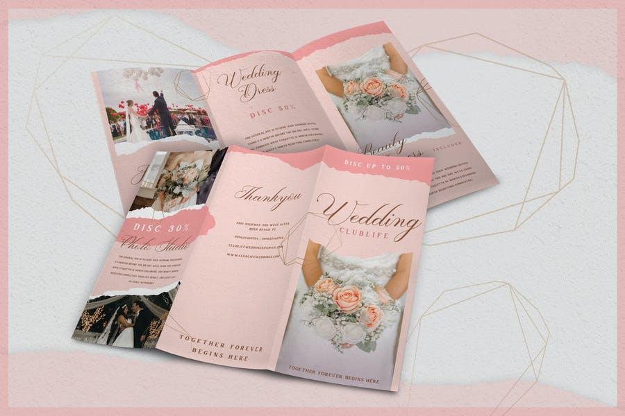 Simple Wedding Brochure