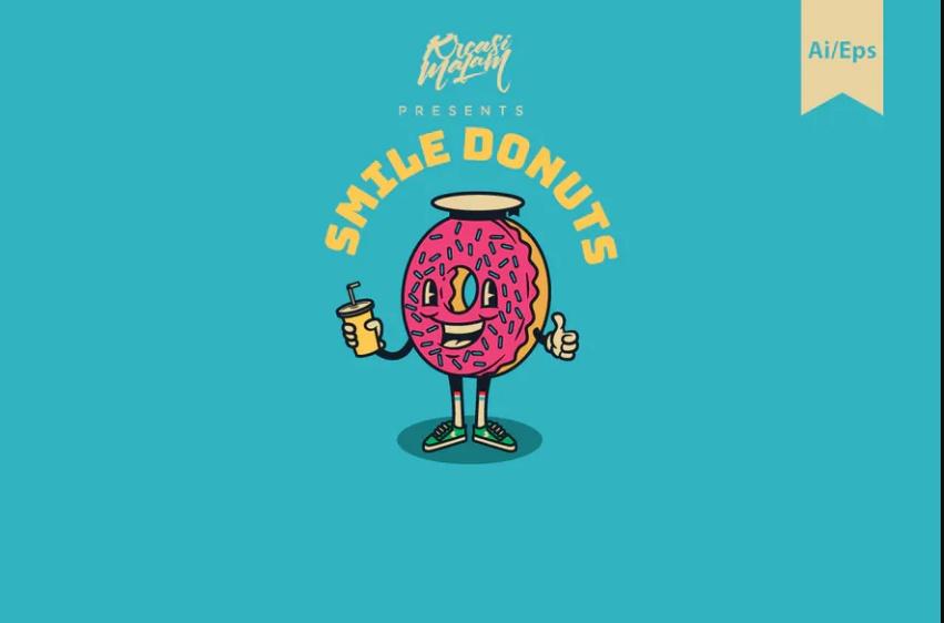 Smile Donut Logotypes