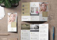 Spa agency brochure template