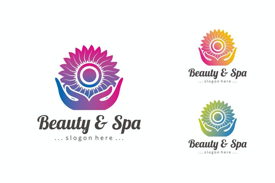 Spa Branding Logo Template