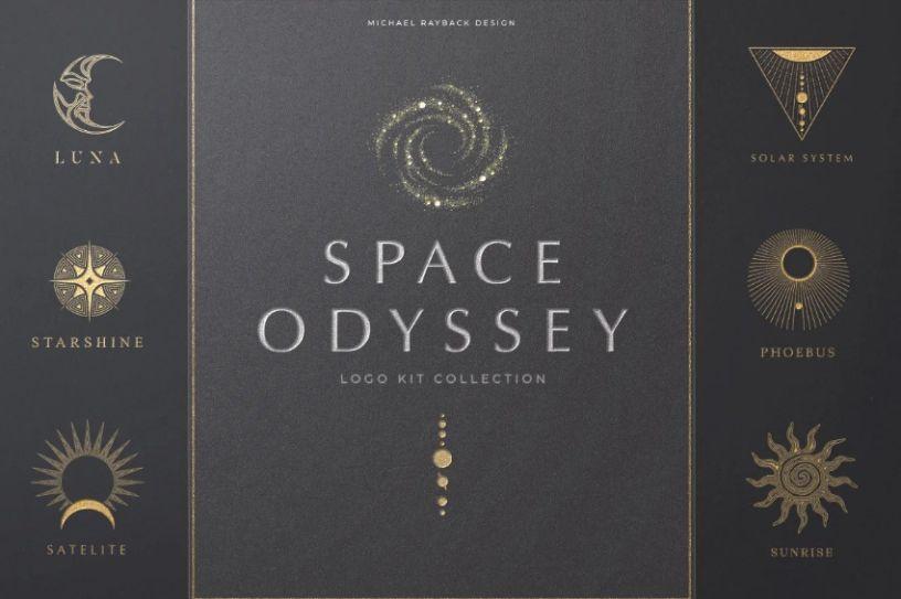 Space Odyssey Logo Bundle