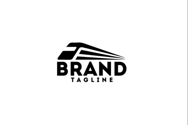 Speed Train Logo Template