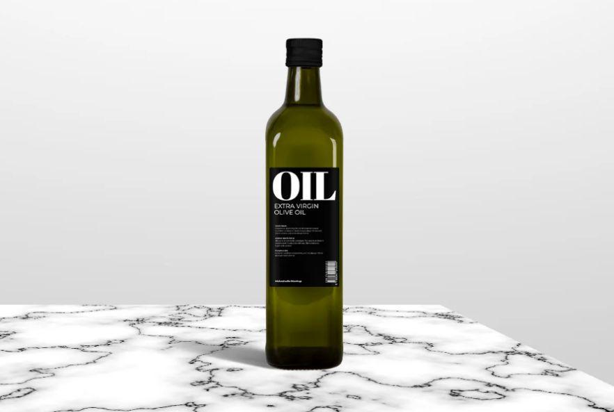 Square Olive Oil Branding Mockups