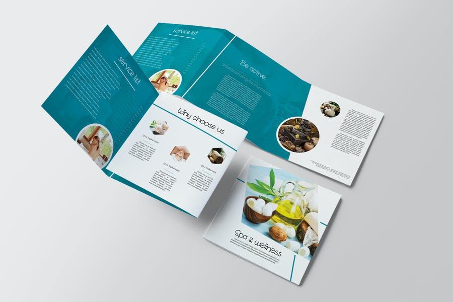 Square Tri Fold Brochure Designs