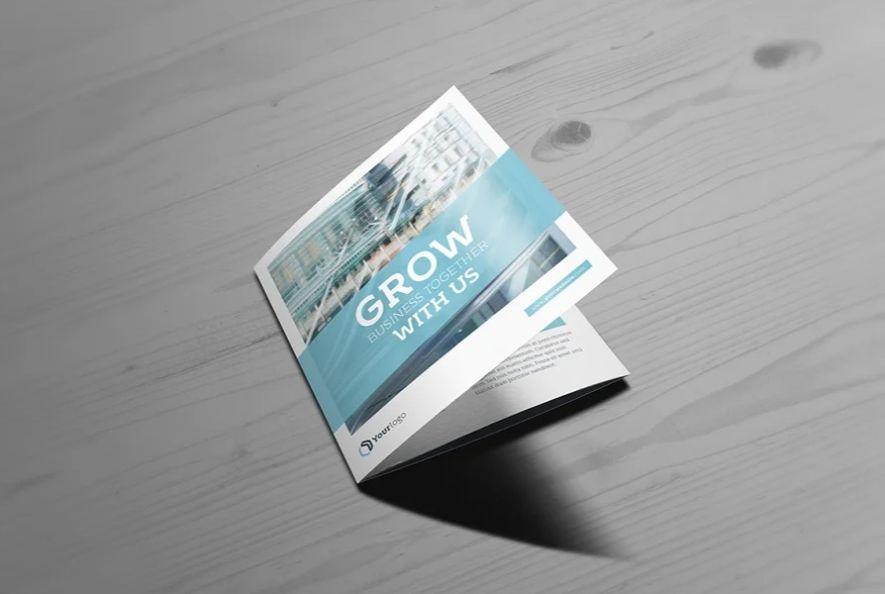 Square Tri Fold Brochure Templates