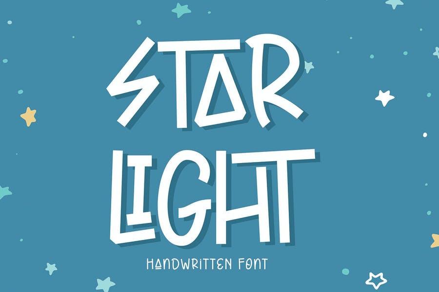 Star Light Typeface
