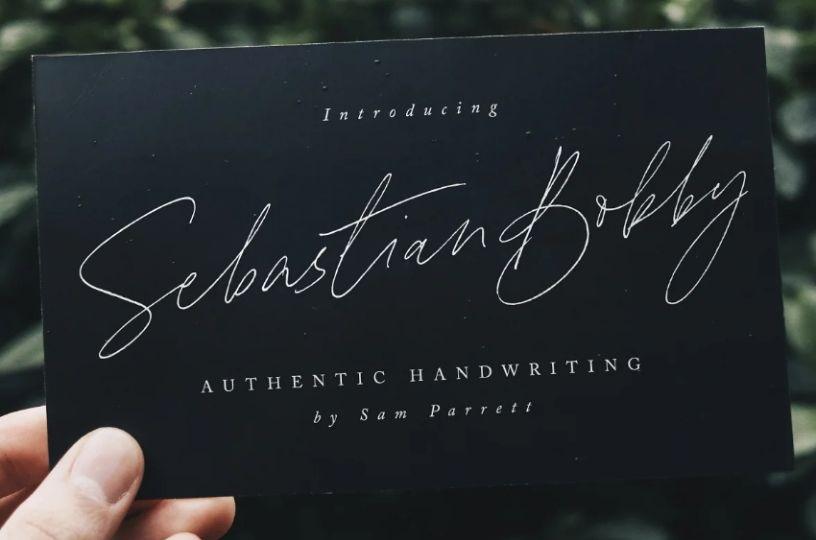 Stylish Handwritten Typeface