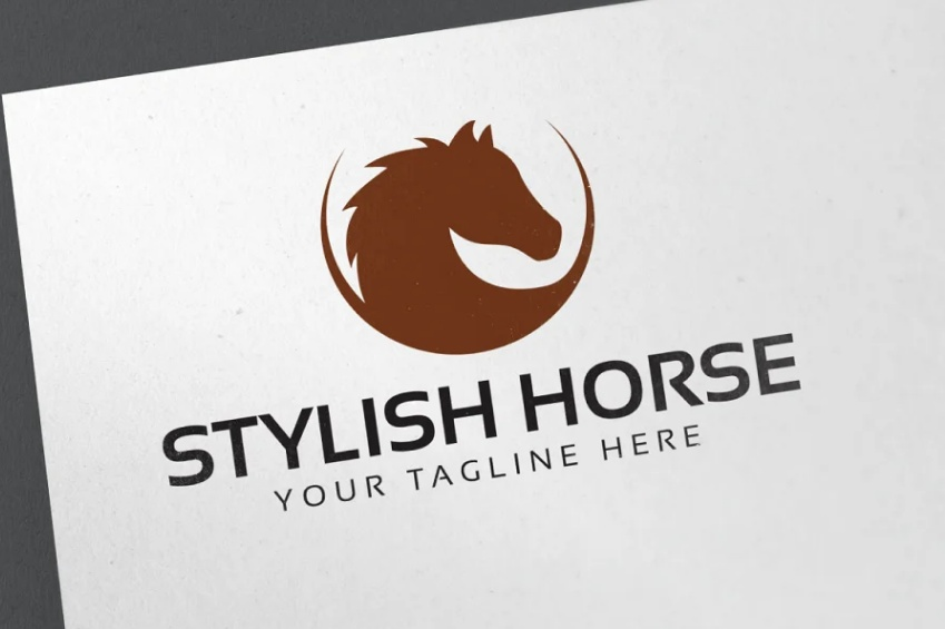 Stylish Horse Logo Ideas