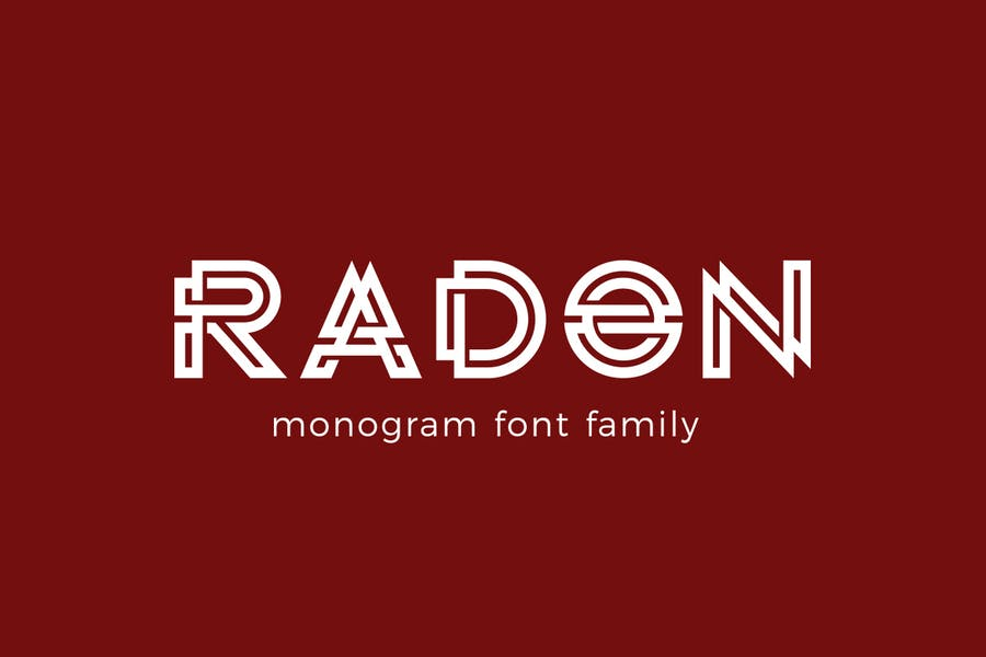 Stylish Monogram Logo Fonts