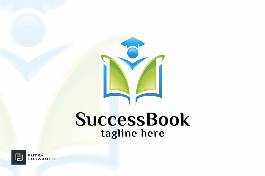 Success Themed Book Logo