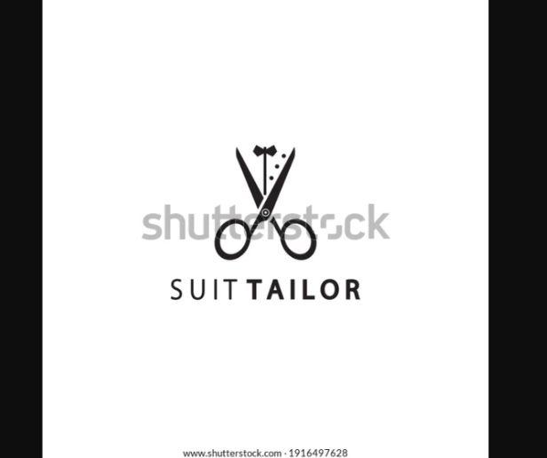 Suit Tailor Logo Design Template