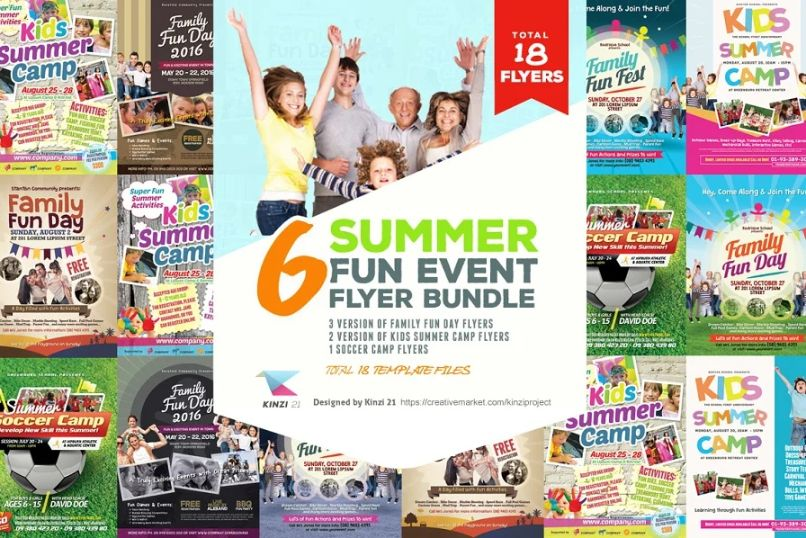 Summer Fun Event Print Bundle