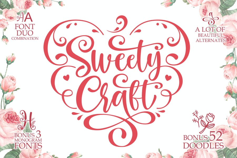Sweet Crafting Fonts