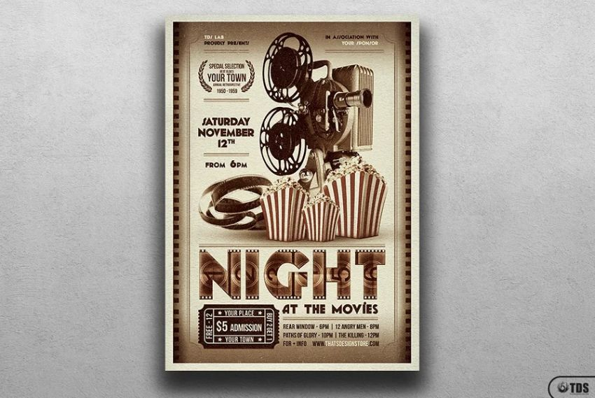 Theater Ad Flyer Templates (1)