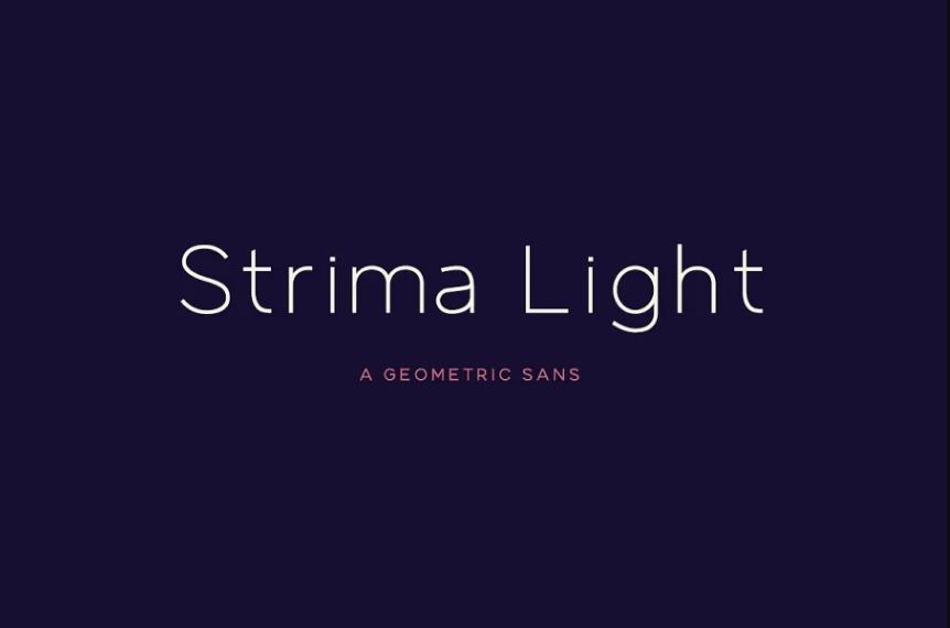 Thin Geometric Gotham fonts