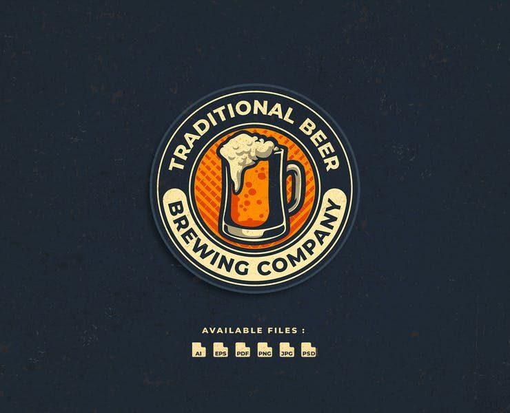 21+ Best Beer Logo Design Template Download