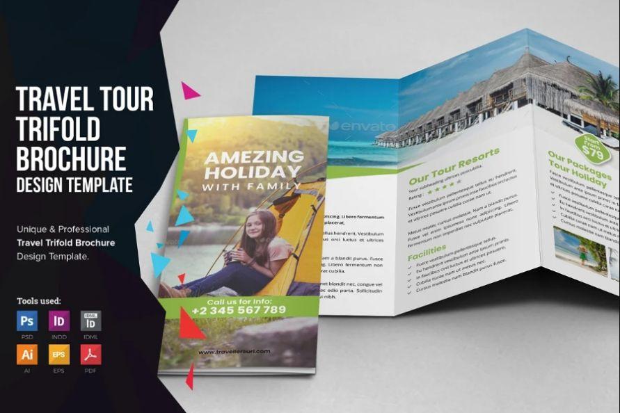 Travel Business Brochure Template