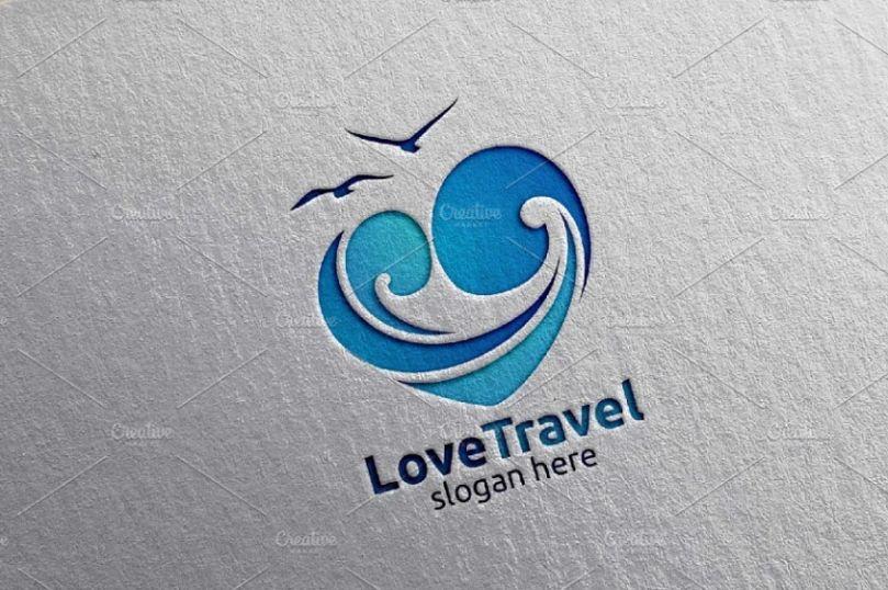 Travel Logo Design Idea