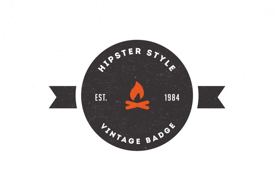 Trendy Vintage Logo Design