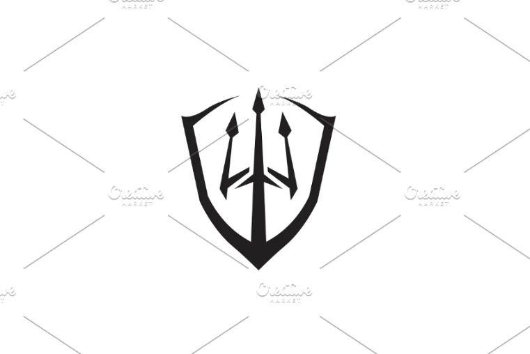 Trident Style Logo Design