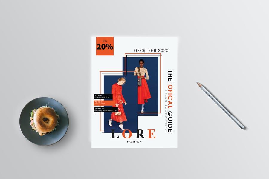US Letter Fashion Flyer