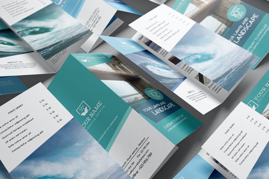 US Letter Tri Fold Brochure
