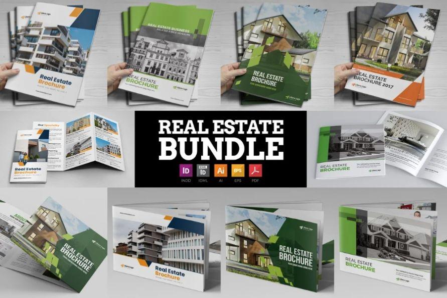 Unique Clean Brochure Template Bundle