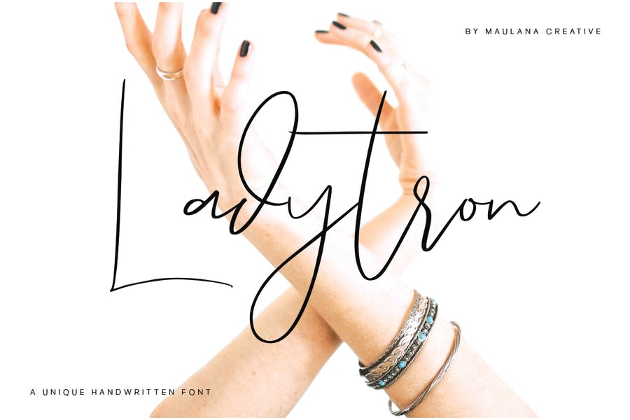 Unique Hand Crafted Logo Fonts