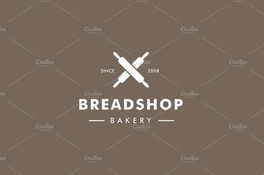 Vintage Bakery Branding Logos
