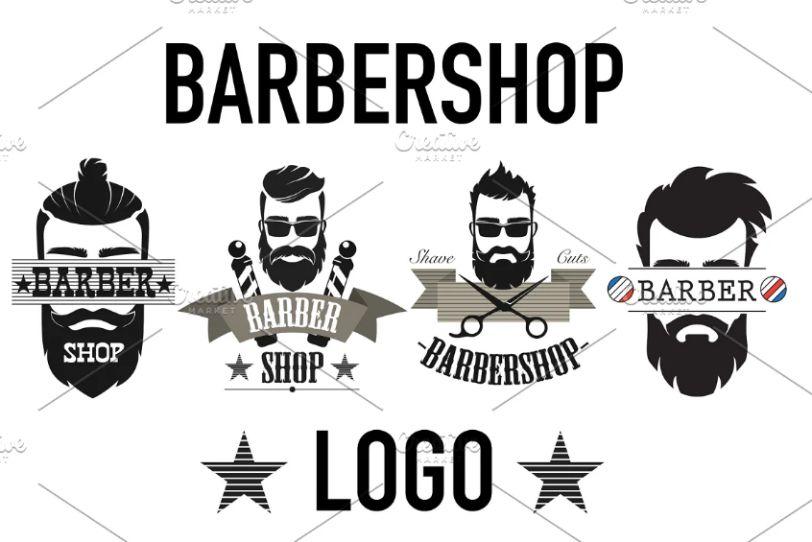 Vintage Barber Logo Templates