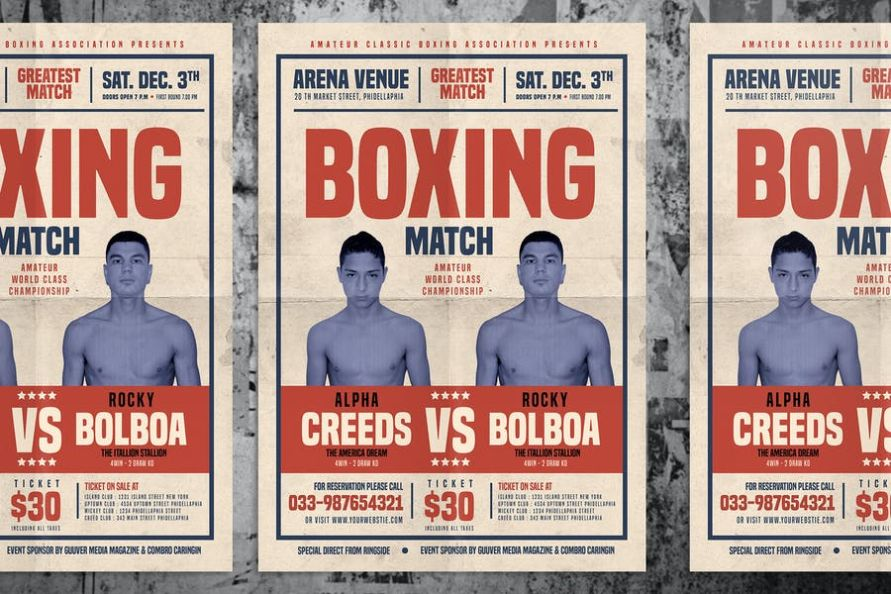 21+ Boxing Flyer Template PSD and Ai Download