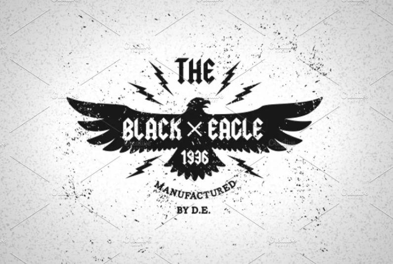 Vintage Eagle Logo Emblem