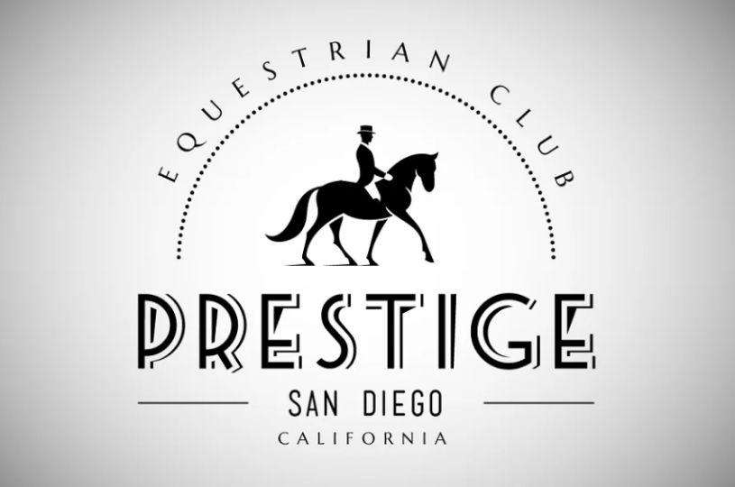 Vintage Horse Logo Template