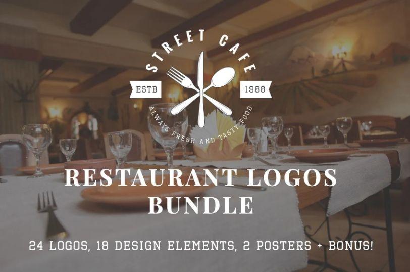 Vintage Restaurant Logo Bundle