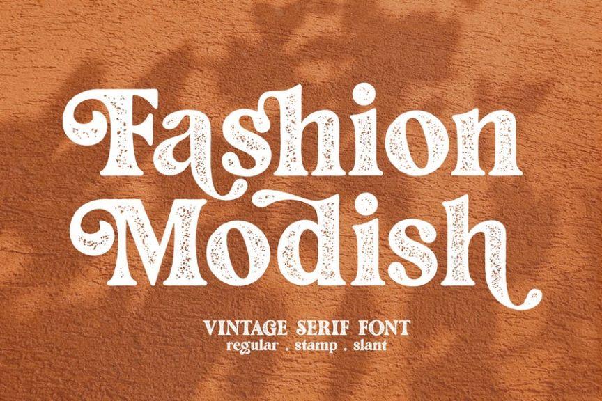 Vintage and Stylish Brush Fonts