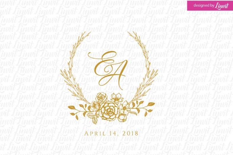 Wedding Monogram Logo Design