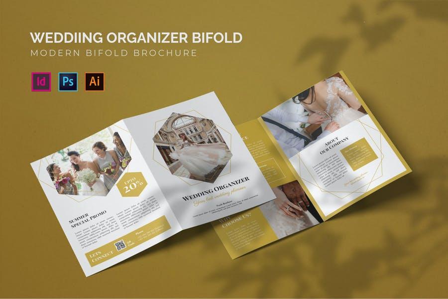 Wedding Organizer Bi Fold Templates