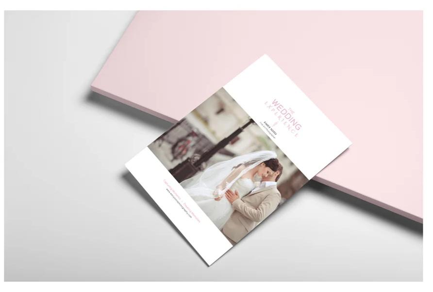 Wedding Photography Brochure Templates