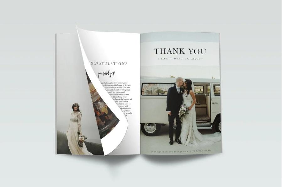 Wedding Planner Magazine Templates