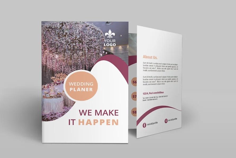 Wedding Services Bi Fold Brochure