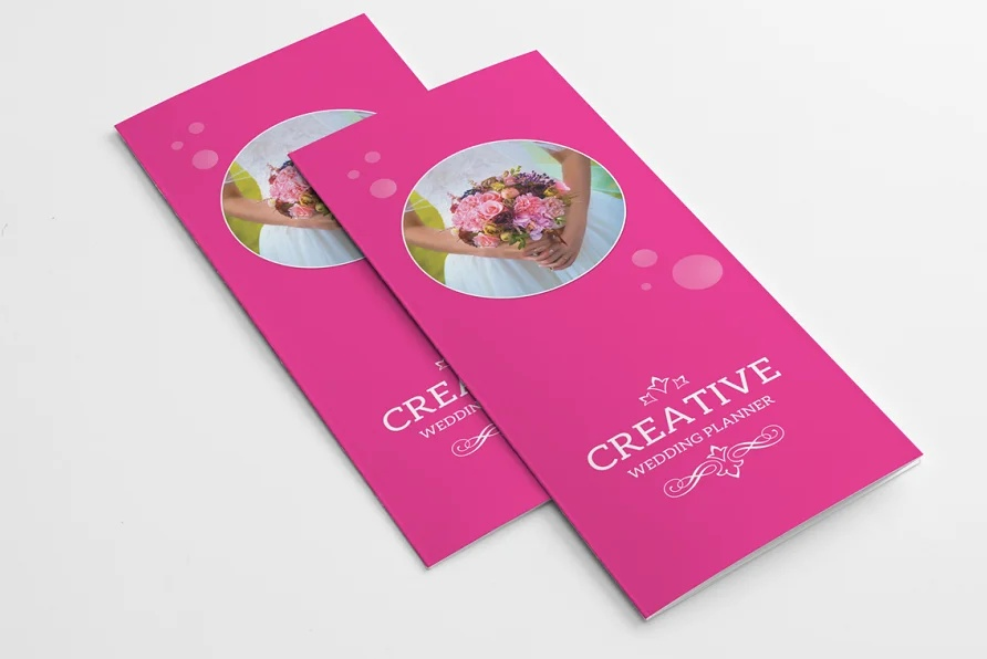 Wedding Services Brochure Template
