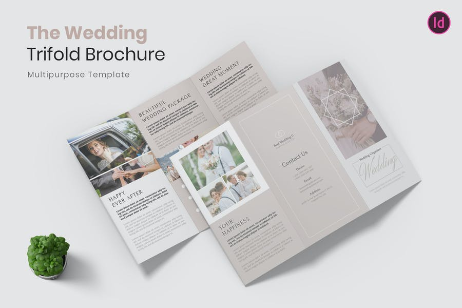Wedding Services Tri Fold Brochure